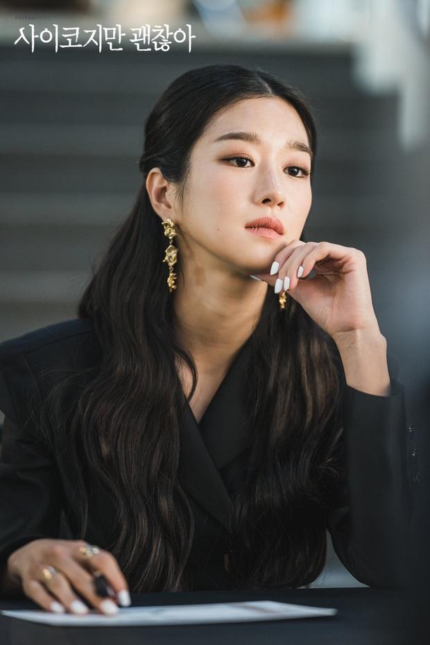 Bắt lỗi Seo Ye Ji trong Điên Thì Có Sao: Đi ngủ vẫn makeup, tô son kẻ mắt như đúng rồi, các nàng chớ dại học theo - Ảnh 1.