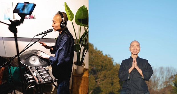 Thầy tu Nhật Bản dùng kỹ năng beatbox để mix nhạc thiền với hip hop cực chất - Ảnh 2.