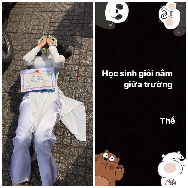 Nữ sinh được học sinh giỏi nhưng lại nằm vật vã giữa sân trường, ai ngờ chỉ vì lỡ mồm thề với đám bạn quỷ yêu - Ảnh 1.