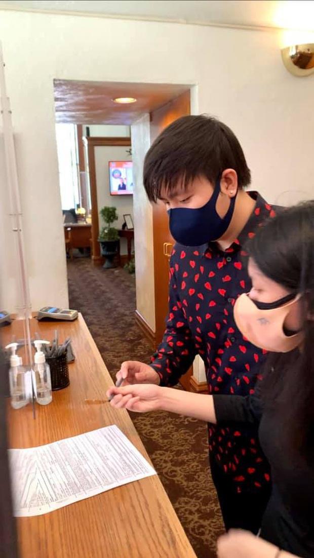 Anh Khang thông báo đã đăng ký kết hôn tại Mỹ, lần đầu để lộ diện mạo bạn gái sau bao năm giấu kín - Ảnh 6.
