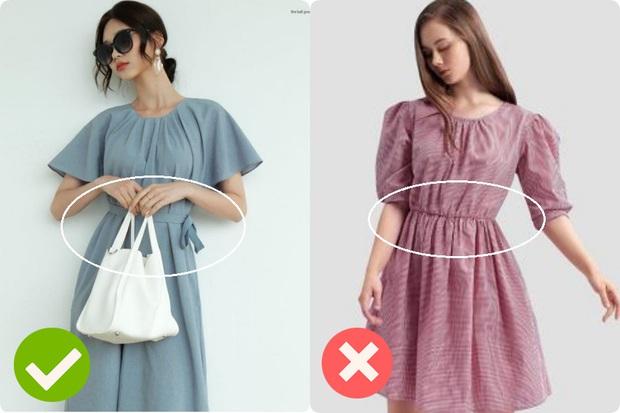 Cùng là váy thắt eo: Có dáng phơi bày bụng ngấn mỡ, có dáng lại khéo che nhược điểm - Ảnh 3.