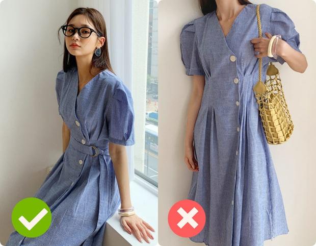 Cùng là váy thắt eo: Có dáng phơi bày bụng ngấn mỡ, có dáng lại khéo che nhược điểm - Ảnh 4.