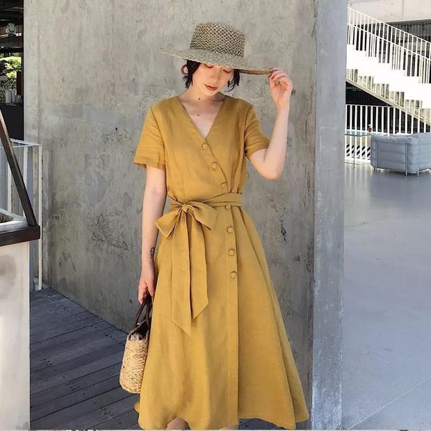 Cùng là váy thắt eo: Có dáng phơi bày bụng ngấn mỡ, có dáng lại khéo che nhược điểm - Ảnh 6.