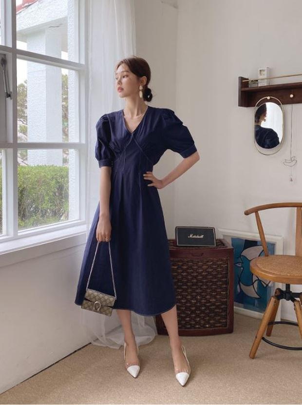Cùng là váy thắt eo: Có dáng phơi bày bụng ngấn mỡ, có dáng lại khéo che nhược điểm - Ảnh 9.
