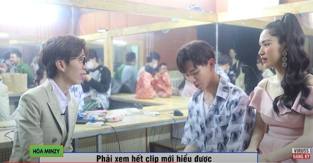 Gặp mặt sau 2 tháng, Hoà Minzy thẳng thắn chất vấn lại ViruSs: Anh chê em hát yếu như thế nào? - Ảnh 4.