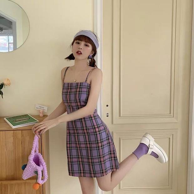 Diện váy ca rô như Seohyun vừa trẻ xinh lại vừa cá tính, các nàng không cần phối đồ cao tay vẫn yên tâm chuẩn đẹp - Ảnh 6.