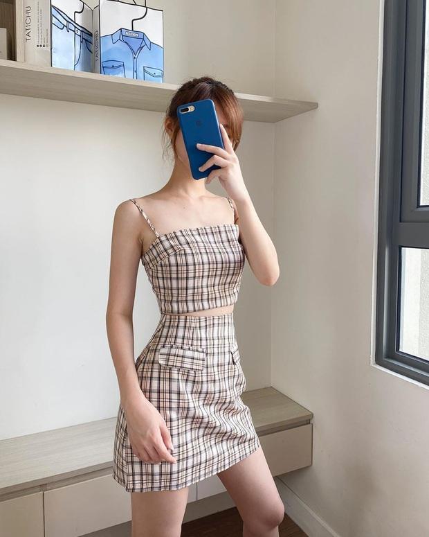 Diện váy ca rô như Seohyun vừa trẻ xinh lại vừa cá tính, các nàng không cần phối đồ cao tay vẫn yên tâm chuẩn đẹp - Ảnh 4.