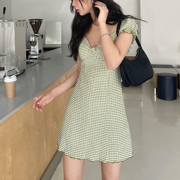 Diện váy ca rô như Seohyun vừa trẻ xinh lại vừa cá tính, các nàng không cần phối đồ cao tay vẫn yên tâm chuẩn đẹp - Ảnh 10.