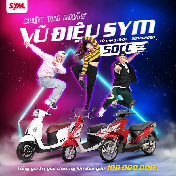 """Phá đảo thử thách bước nhảy với dance contest """"Vũ điệu SYM 50cc – Lướt đến tương lai"""" - Ảnh 1."""