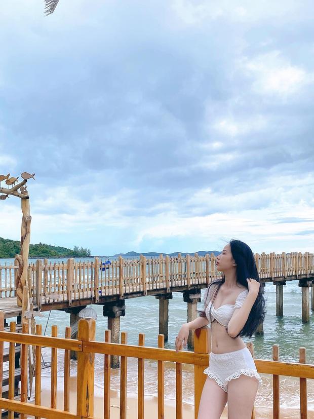 Dàn thí sinh Hoa Hậu Việt Nam đọ sắc với bikini: Ai cũng chân dài thẳng tắp, body nóng bỏng hay mảnh mai đều cân hết - Ảnh 7.
