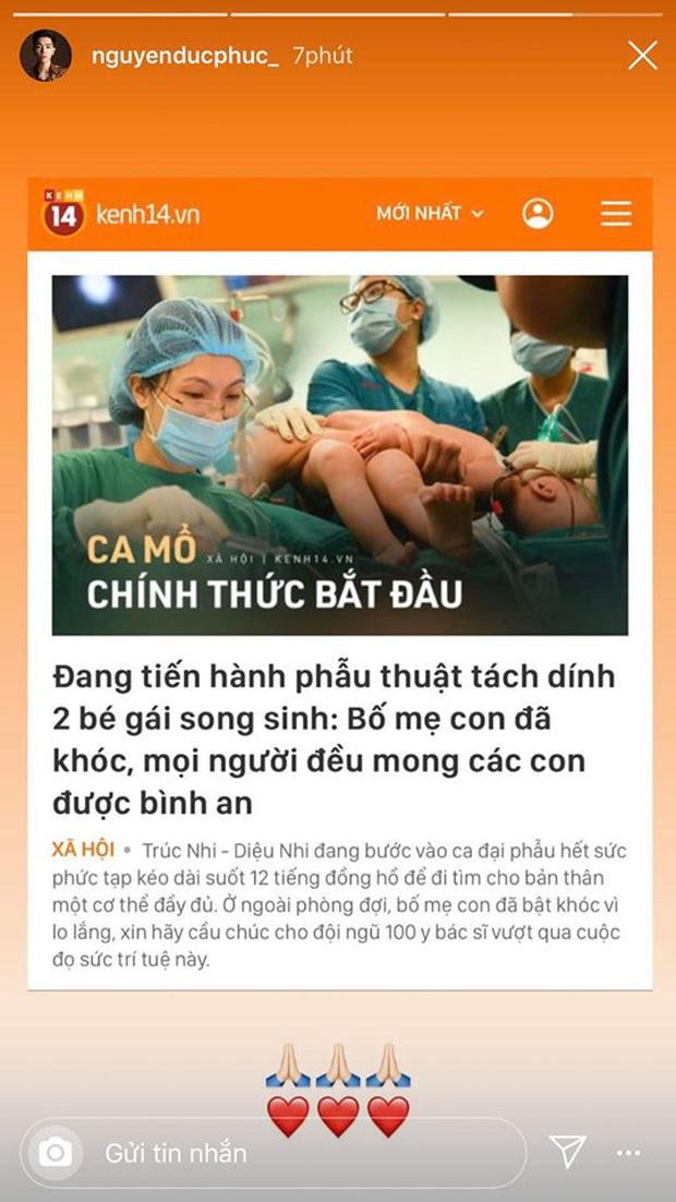 Ốc Thanh Vân, H'Hen Niê và dàn sao Vbiz đồng loạt dành lời chúc cho ekip thực hiện ca tách 2 bé song sinh dính liền - Ảnh 7.
