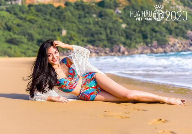 Dàn thí sinh Hoa Hậu Việt Nam đọ sắc với bikini: Ai cũng chân dài thẳng tắp, body nóng bỏng hay mảnh mai đều cân hết - Ảnh 9.