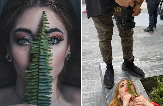 Loạt hậu trường khó đỡ của những bức ảnh long lanh trên Instagram khiến dân tình phải nể phục óc sáng tạo của hội phó nháy - Ảnh 23.