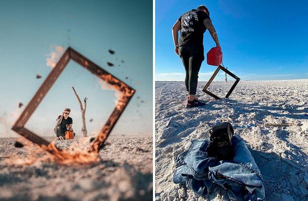 Loạt hậu trường khó đỡ của những bức ảnh long lanh trên Instagram khiến dân tình phải nể phục óc sáng tạo của hội phó nháy - Ảnh 4.