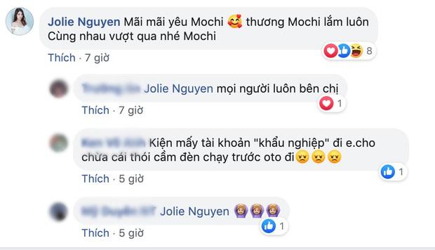 Sau khi nhờ luật sư bảo vệ danh dự, Jolie Nguyễn lên tiếng trấn an fan: Cùng nhau vượt qua nhé Mochi! - Ảnh 4.
