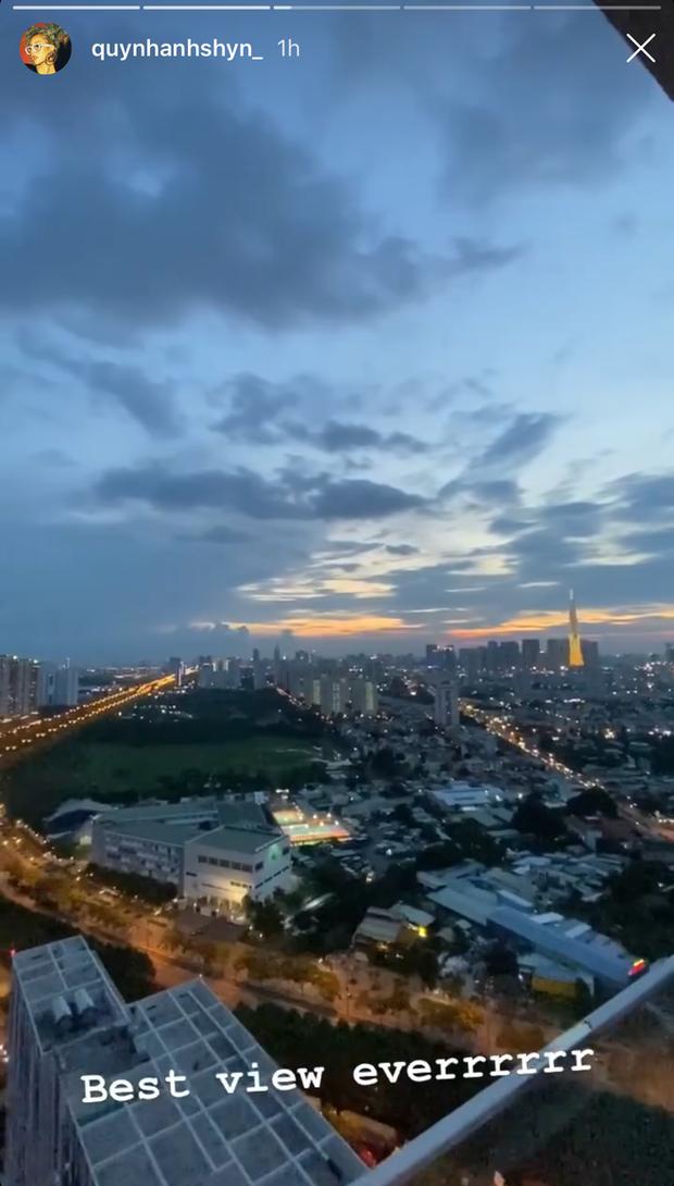 Quỳnh Anh Shyn khoe căn rooftop mới mua ở tuổi 24: Rộng ơi là rộng và view cực đỉnh - Ảnh 4.