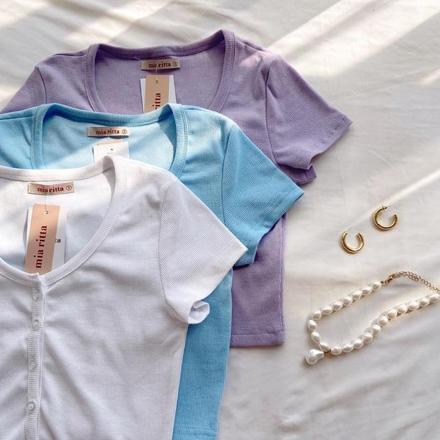 8 kiểu áo đơn giản nhưng cực xinh được sao Hàn diện liên tục, nàng nào bắt chước thì vừa tôn dáng vừa lên hạng style - Ảnh 5.