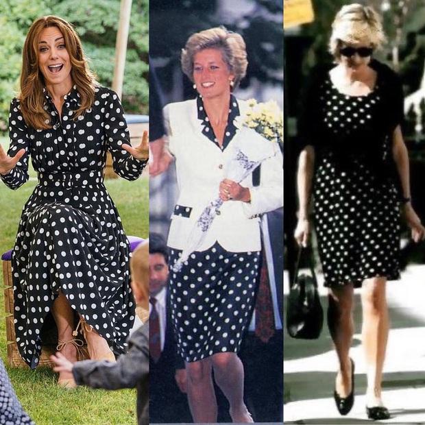 Công nương Kate phá luật thời trang nhưng chẳng bị chê mà còn gây xúc động khi gợi nhớ đến mẹ chồng Diana - Ảnh 4.