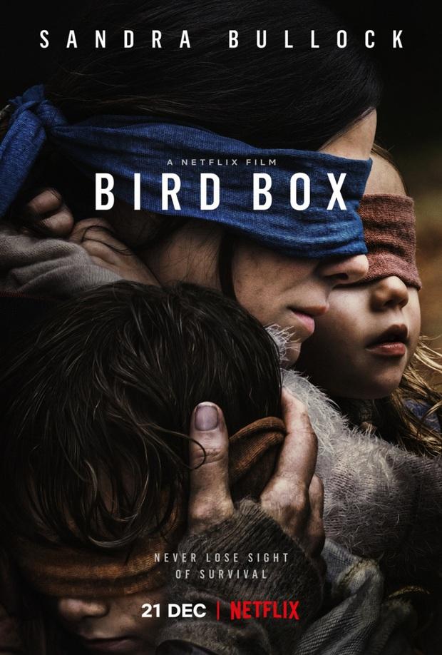Bird Box xác nhận phần 2, khán giả rủ Sandra Bullock đeo thêm khẩu trang cho hợp mùa dịch - Ảnh 2.