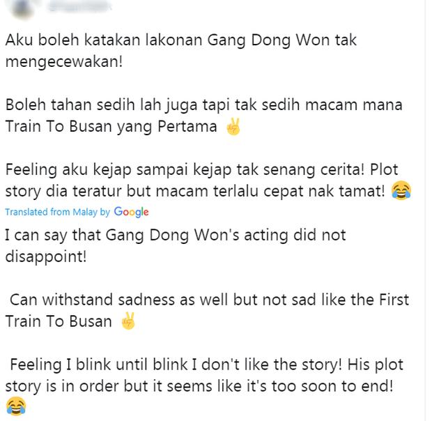 Phản ứng đầu tiên của fan quốc tế về Train To Busan 2 (Peninsula): Kang Dong Won đỉnh khỏi bàn nhưng kỹ xảo hơi thất vọng nha! - Ảnh 3.