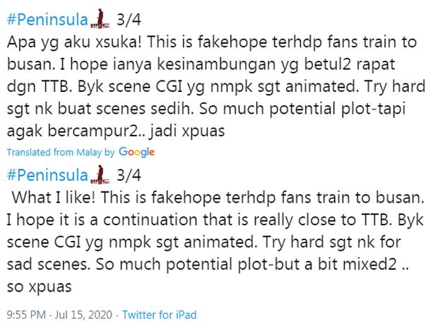 Phản ứng đầu tiên của fan quốc tế về Train To Busan 2 (Peninsula): Kang Dong Won đỉnh khỏi bàn nhưng kỹ xảo hơi thất vọng nha! - Ảnh 11.