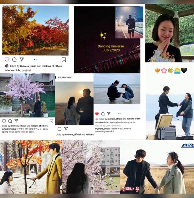 Soi động thái Lee Min Ho - Kim Go Eun sau khi lộ hint hẹn hò: Đăng bài hát ẩn ý, khớp đến cả ngày viết status - Ảnh 5.