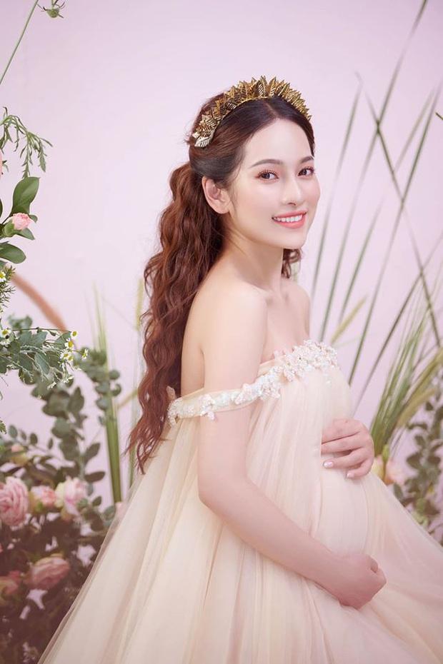 Bà xã Dương Khắc Linh tung trọn bộ ảnh bầu thai đôi đỉnh cao: Nhan sắc thế này bảo sao ông xã nghiện khoe! - Ảnh 3.