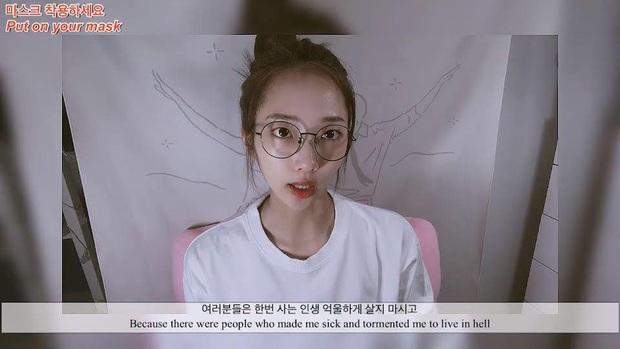 Nữ Idol tố bị bắt nạt, ép xem clip nóng đến mức phải nhảy sông Hàn: Công ty chủ quản khẳng định bịa đặt - Ảnh 3.