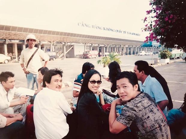 BTV Hoài Anh chụp ảnh với diễn viên Lý Hùng thời chân mày lá liễu, tóc ép thẳng nhưng ô kìa chị không già đi chút nào - Ảnh 2.