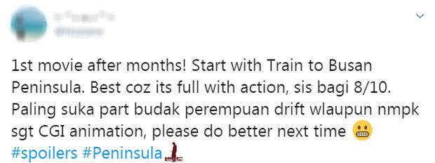 Phản ứng đầu tiên của fan quốc tế về Train To Busan 2 (Peninsula): Kang Dong Won đỉnh khỏi bàn nhưng kỹ xảo hơi thất vọng nha! - Ảnh 9.