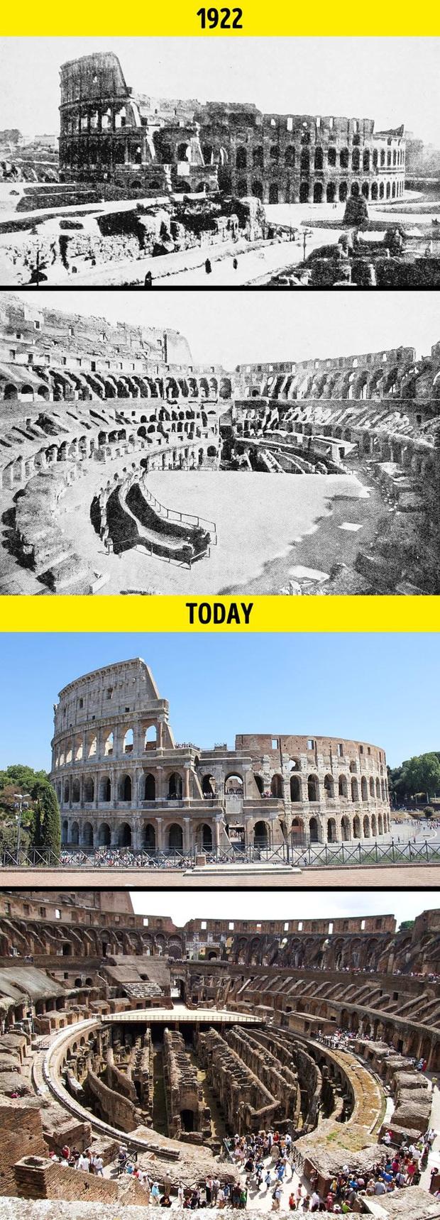 Loạt ảnh xưa và nay cho thấy các địa danh nổi tiếng thế giới đã thay đổi như thế nào trong vòng 1 thế kỷ qua - Ảnh 1.