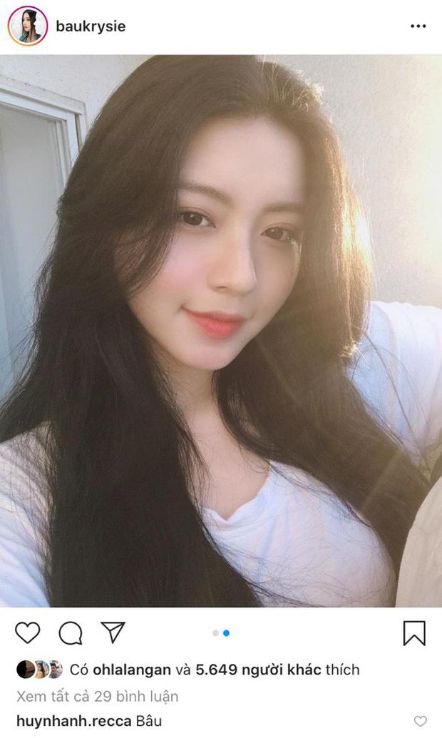 Huỳnh Anh bị bắt gặp bình luận dưới ảnh Bâu - gái xinh nổi tiếng Sài Gòn - Ảnh 2.