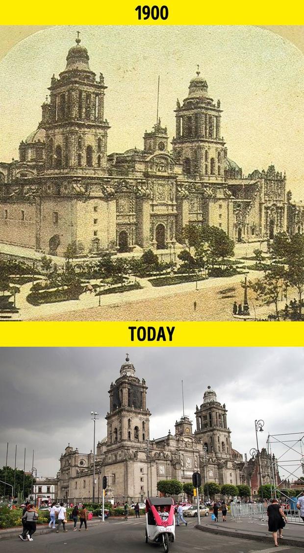 Loạt ảnh xưa và nay cho thấy các địa danh nổi tiếng thế giới đã thay đổi như thế nào trong vòng 1 thế kỷ qua - Ảnh 7.