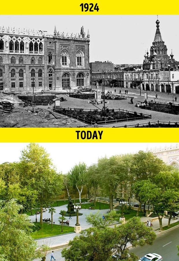 Loạt ảnh xưa và nay cho thấy các địa danh nổi tiếng thế giới đã thay đổi như thế nào trong vòng 1 thế kỷ qua - Ảnh 14.