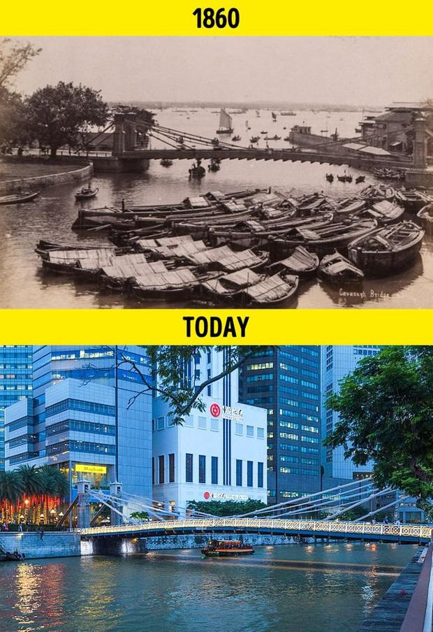 Loạt ảnh xưa và nay cho thấy các địa danh nổi tiếng thế giới đã thay đổi như thế nào trong vòng 1 thế kỷ qua - Ảnh 19.