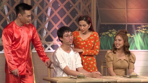 Lê Dương Bảo Lâm rượt Hải Triều vài vòng quanh sân khấu dù chưa vào gameshow! - Ảnh 3.