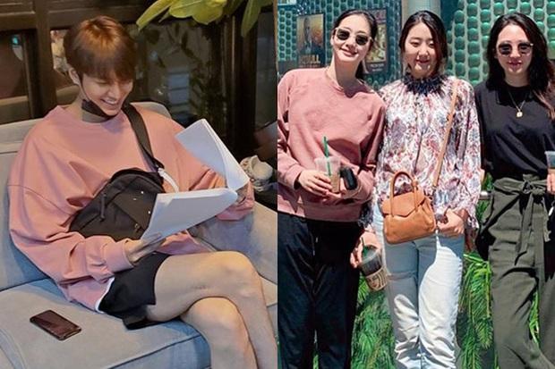 Soi động thái Lee Min Ho - Kim Go Eun sau khi lộ hint hẹn hò: Đăng bài hát ẩn ý, khớp đến cả ngày viết status - Ảnh 14.
