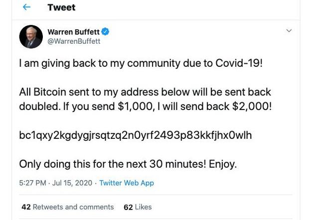 Vụ hack lớn nhất lịch sử, Elon Musk, Bill Gates cùng hàng loạt acc khủng, tích xanh bị hack để lừa đảo bitcoin - Ảnh 2.