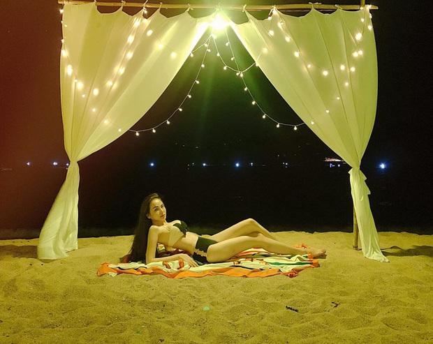 Tung ảnh bikini nóng bỏng, Hoa hậu Diễm Hương phản ứng cực tỉnh khi bị ngã giá đi khách - Ảnh 2.