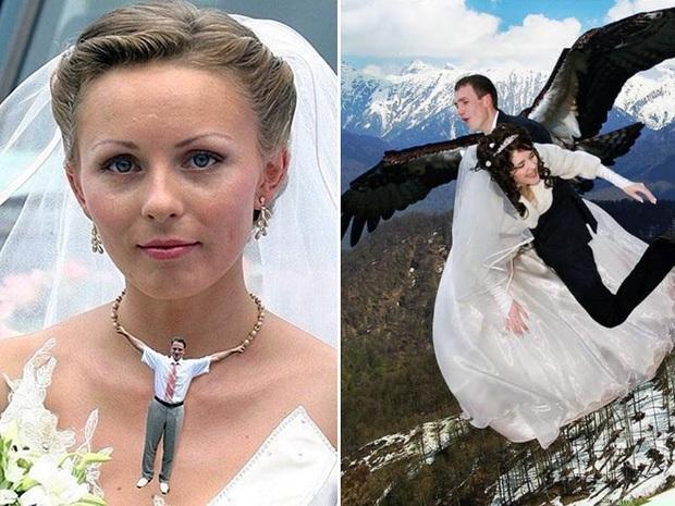 Những bức ảnh cưới xấu đến phát hờn khiến cô dâu chú rể nhìn xong là muốn huỷ luôn đám cưới - Ảnh 6.