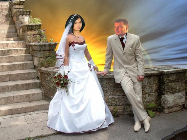 Những bức ảnh cưới xấu đến phát hờn khiến cô dâu chú rể nhìn xong là muốn huỷ luôn đám cưới - Ảnh 8.