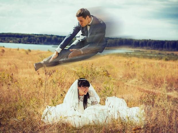 Những bức ảnh cưới xấu đến phát hờn khiến cô dâu chú rể nhìn xong là muốn huỷ luôn đám cưới - Ảnh 12.