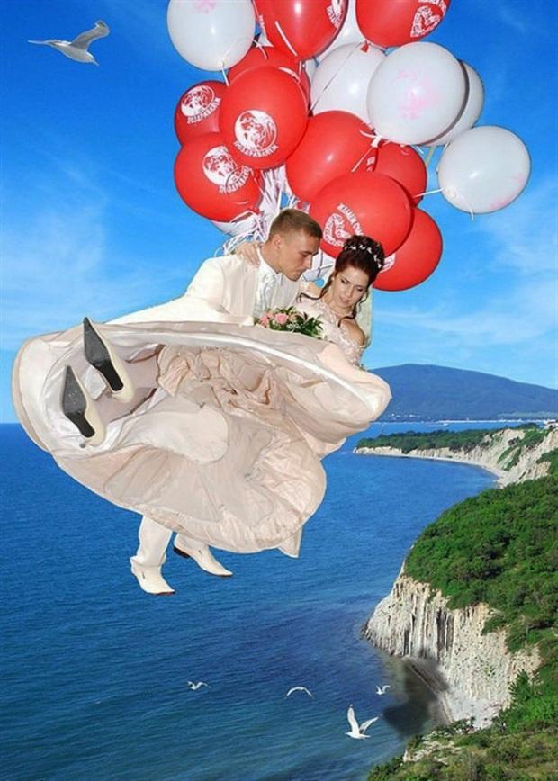 Những bức ảnh cưới xấu đến phát hờn khiến cô dâu chú rể nhìn xong là muốn huỷ luôn đám cưới - Ảnh 13.