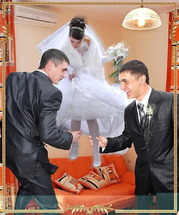 Những bức ảnh cưới xấu đến phát hờn khiến cô dâu chú rể nhìn xong là muốn huỷ luôn đám cưới - Ảnh 14.