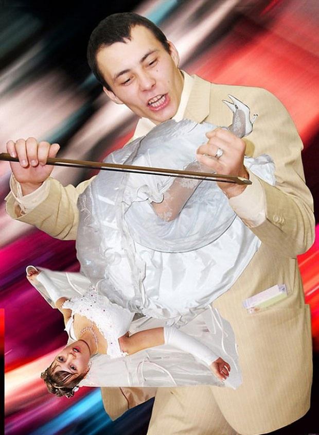 Những bức ảnh cưới xấu đến phát hờn khiến cô dâu chú rể nhìn xong là muốn huỷ luôn đám cưới - Ảnh 16.
