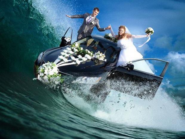 Những bức ảnh cưới xấu đến phát hờn khiến cô dâu chú rể nhìn xong là muốn huỷ luôn đám cưới - Ảnh 20.
