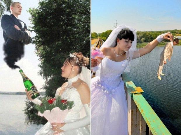 Những bức ảnh cưới xấu đến phát hờn khiến cô dâu chú rể nhìn xong là muốn huỷ luôn đám cưới - Ảnh 22.