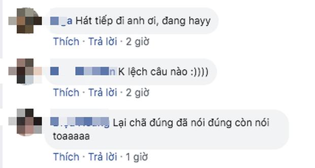 Quang Trung đang cover nhạc Lynk Lee đầy sâu lắng, bỗng quay ngoắt 180 độ lập luận về tình yêu kiểu cục súc khiến ai cũng cười ngất - Ảnh 4.