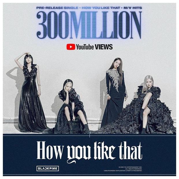 How You Like That cán mốc 300 triệu lượt xem, BLACKPINK phá kỷ lục Kpop do chính mình tạo nên nhưng vẫn thua Adele và Taylor Swift - Ảnh 3.