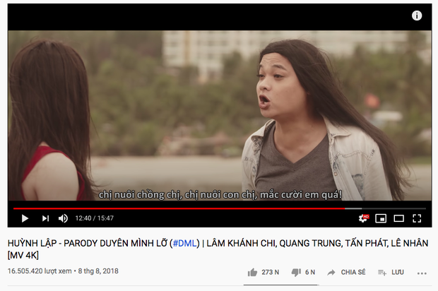 Sau khi hoàn tất thủ tục bản quyền, MV parody Duyên Mình Lỡ đã trở lại nhưng Huỳnh Lập vẫn mắc nợ chị cano 300 nghìn từ... 2 năm trước - Ảnh 5.